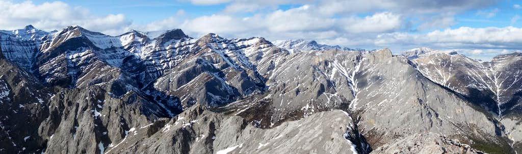 East Wendell Summit Panorama