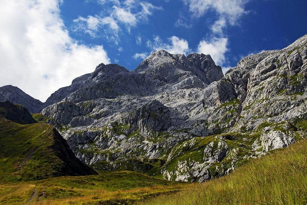 Monte Coglians / Hohe Warte massif