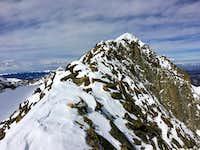 Static Peak East Ridge