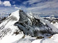 Mount Richthofen from Static Peak Summit