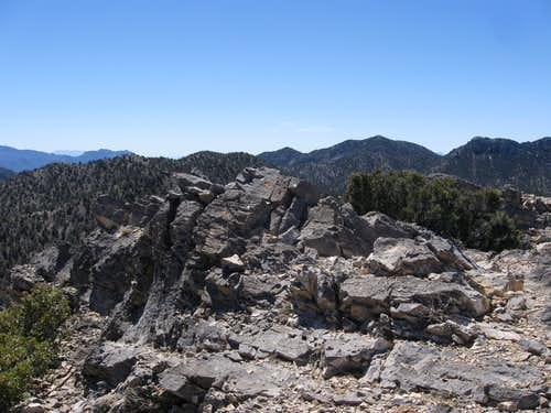 The Summit of Crest Peak