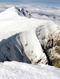 Northeast crater rim (Mt Hood)