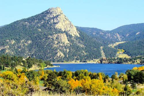 Mount Olympus & Lake Estes