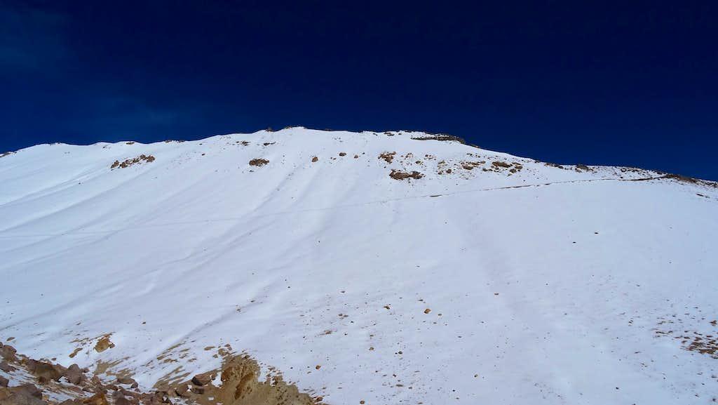 Trail to Alto Toroni