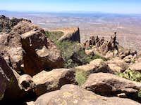 Flatiron from near Ironview Peak Summit