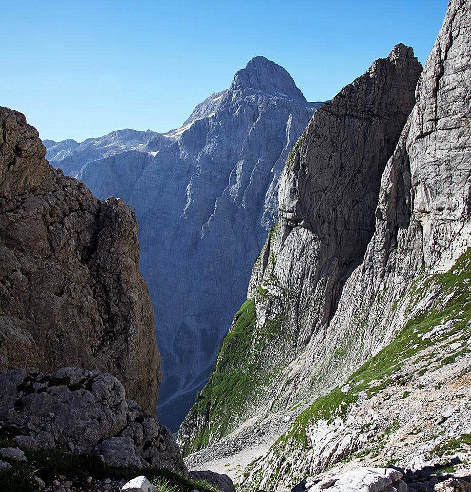 Triglav from Sovatna valley
