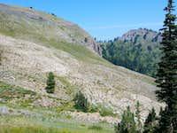 Mount Elmer from Green Canyon Ridge