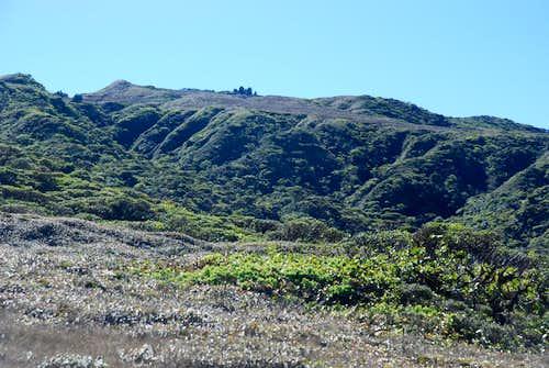 First good view of Pu'u Kukui summit