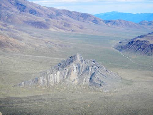 Striped Butte Below