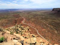 From the top of Moki Dugway