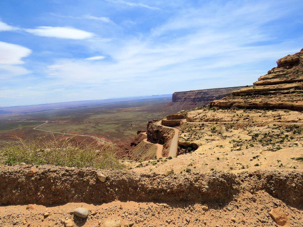 Switchbacks on Moki Dugway