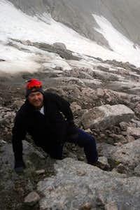 My Buddy Eric on Long's Peak