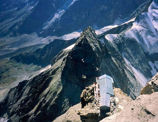 The Carrel-hut, Lion Ridge