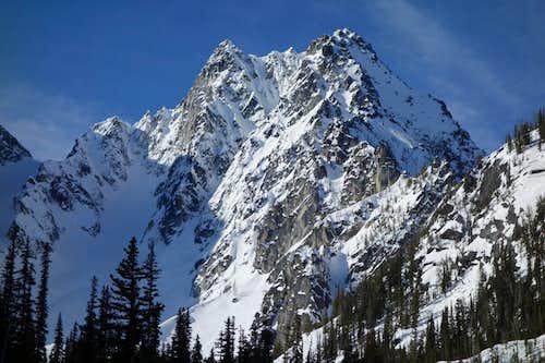 Colchuck Peak's North Face