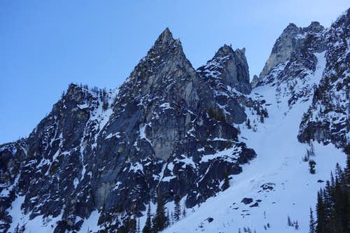 Buttresses on Enchantment Peak