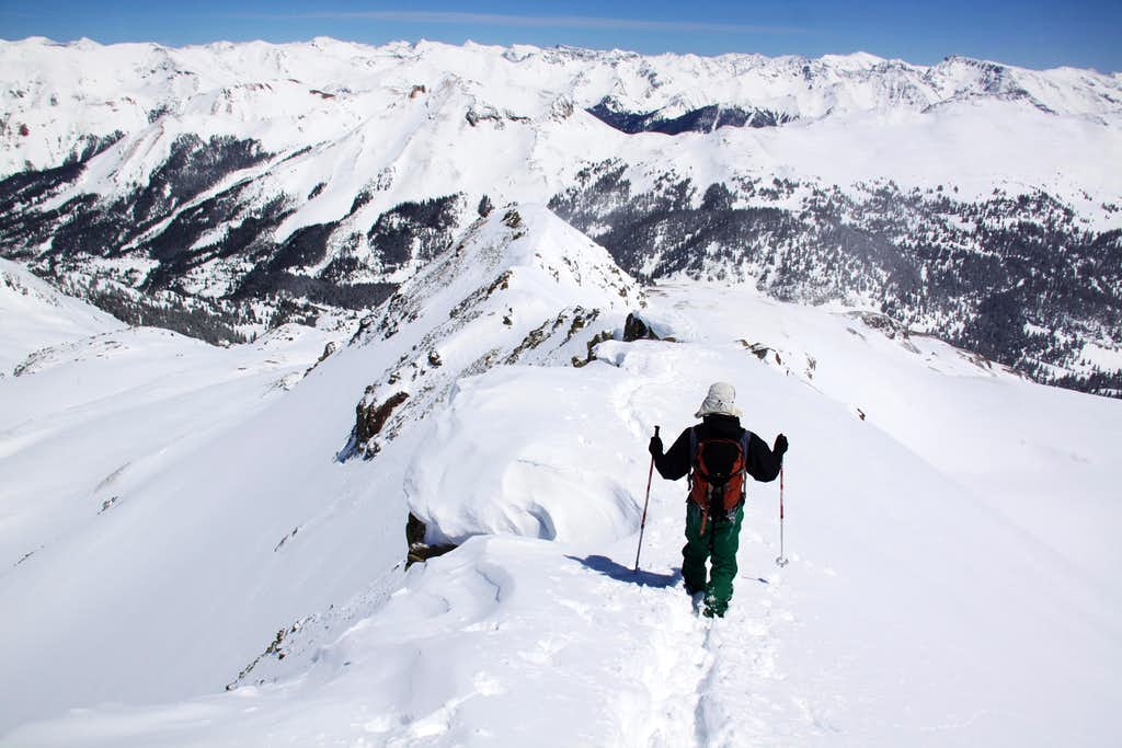 East Ridge of Trico Peak