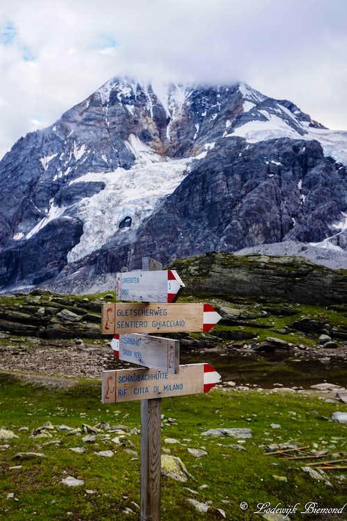 Gran Zebru /Koenig Spitze (3850m)