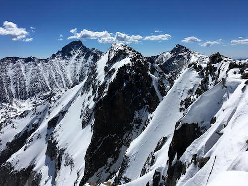 View from Powell Peak Summit