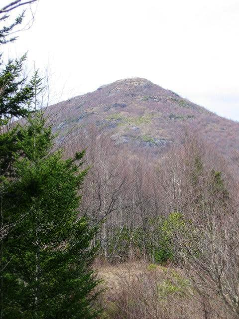 Sam Knob, seen from Little...