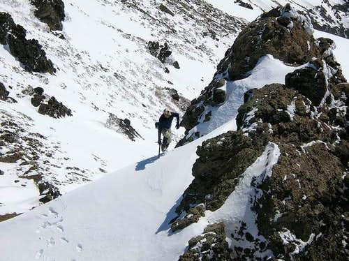 Myself doing some steep snow...