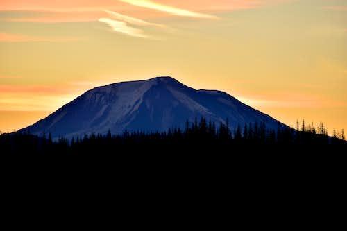 Mount Adams West Aspect