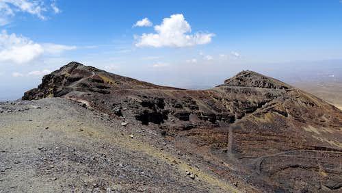Chacaltaya summit (left)