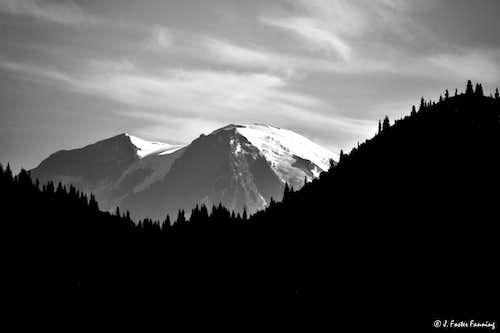 Mount Rainier From WIndy Ridge