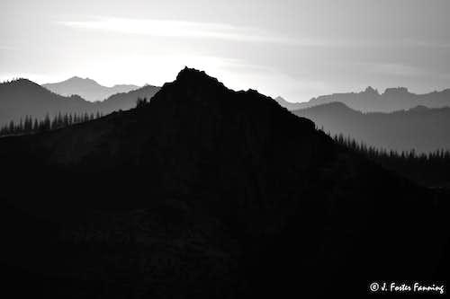 NE From Windy Ridge Trail