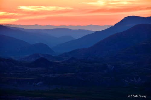 Mt. St. Helens Landscapes 37 years later