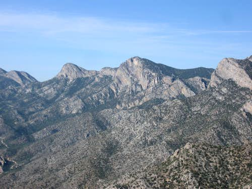 Pepper Peak & Tio Grande Looked Especially Impressive From This Angle