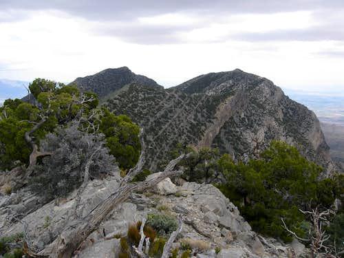 Burnt Peak, El Padre & La Madre Mountain