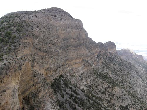 The Spectacular South Face of La Madre Mountain