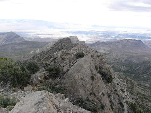 The Knife-edge Northeast Ridge of La Madre Mountain