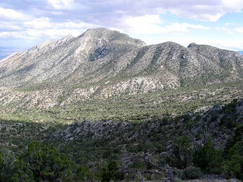 The Unnamed Valley Between Damsel Peak & East La Madre Peak