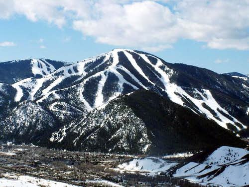 Bald Mountain as seen from...