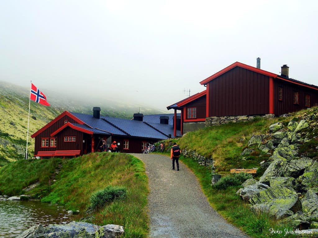 Arrival at Rondvassbu Hut