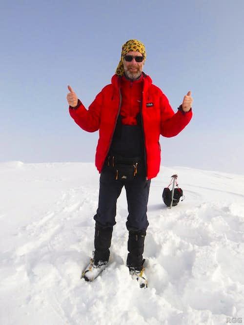 On top of Hvannadalshnúkur