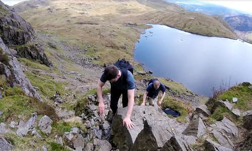 Lakes 2017: The Langdales by triathlon