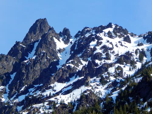 South Gemini Peak from Monte Cristo townsite