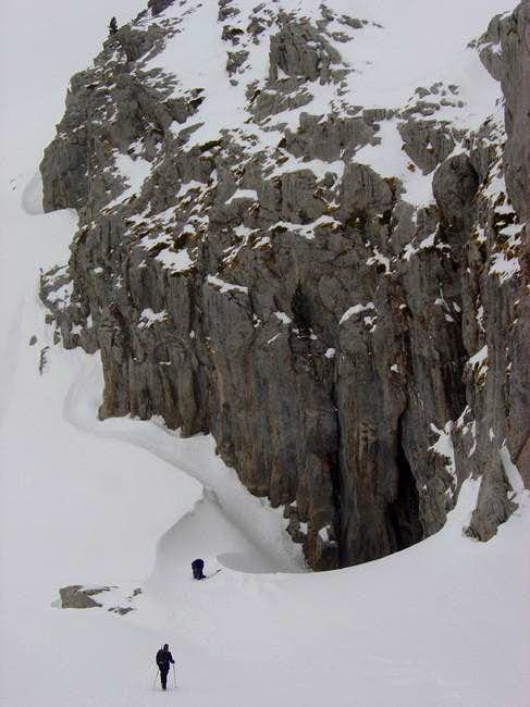 Entry of the ice cave