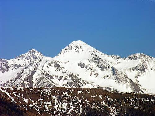 Monte Rosso (2943 m), view...