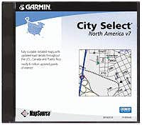 Mapsource City Select