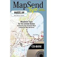 MapSend 2D Topo