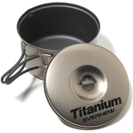 Evernew 1.3L Titanium Pot