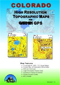 Colorado High Res GPS Maps