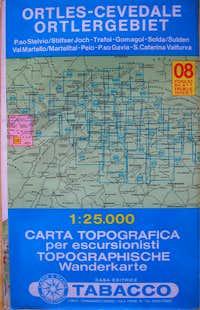 Tabacco hiking maps