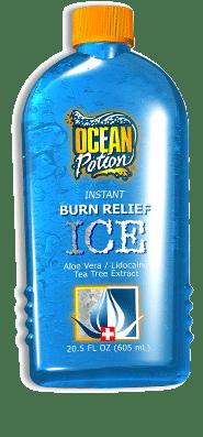 OCEAN Potion, Instant Burn Relief ICE