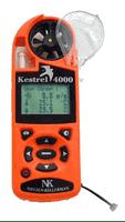 Kestrel 4000 Pocket Weather Tracker (Orange) with Free UPS, Carry Case, Impeller