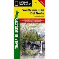 South San Juan & Del Norte, Colorado - Trails Illustrated Map #142