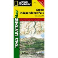 Aspen & Independence Pass Area, Colorado Trails Illustrated Map # 127